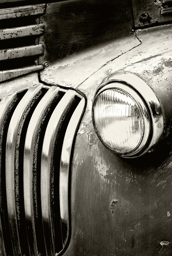 Cars Photograph - Time Traveler by Holly Kempe