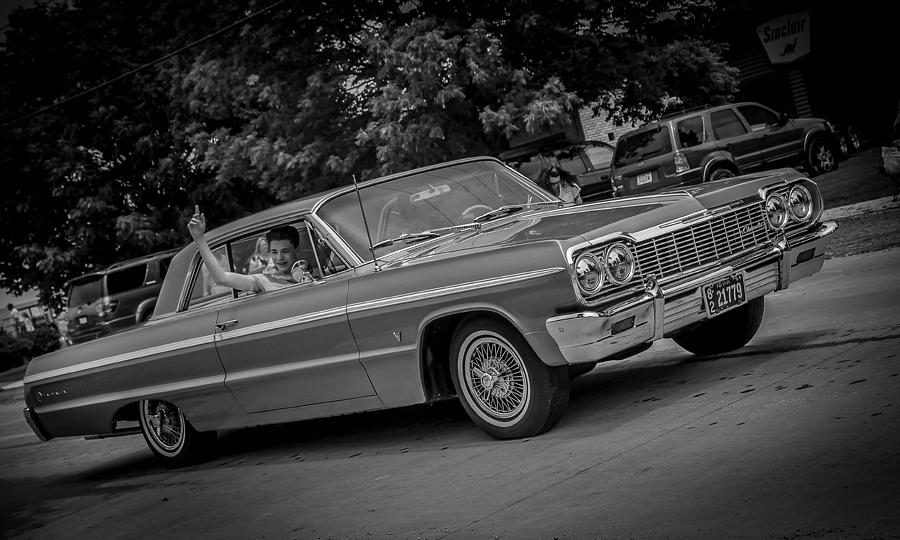1964 Chevy Photograph - Time Traveler by Ray Congrove