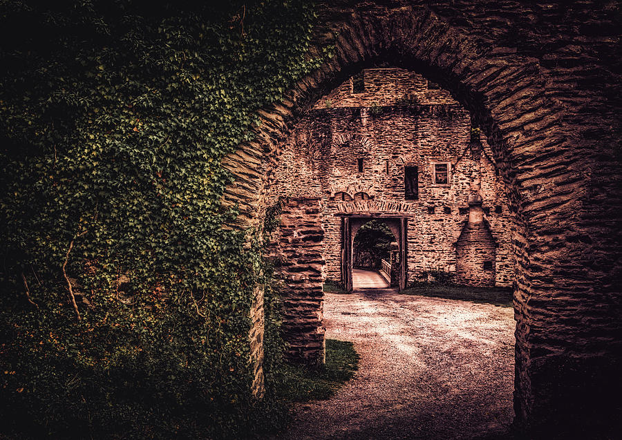 Burg Photograph - Time Tunnel by Hans Zimmer