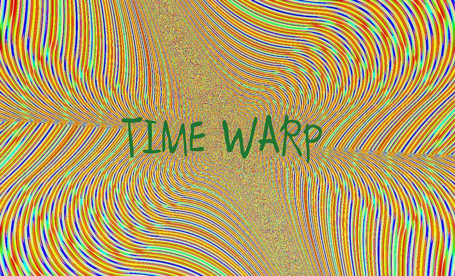 Digital Digital Art - Time Warp by Thomas Smith