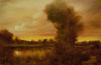 Tonalism Painting - Timeless by JoAnne Lussier