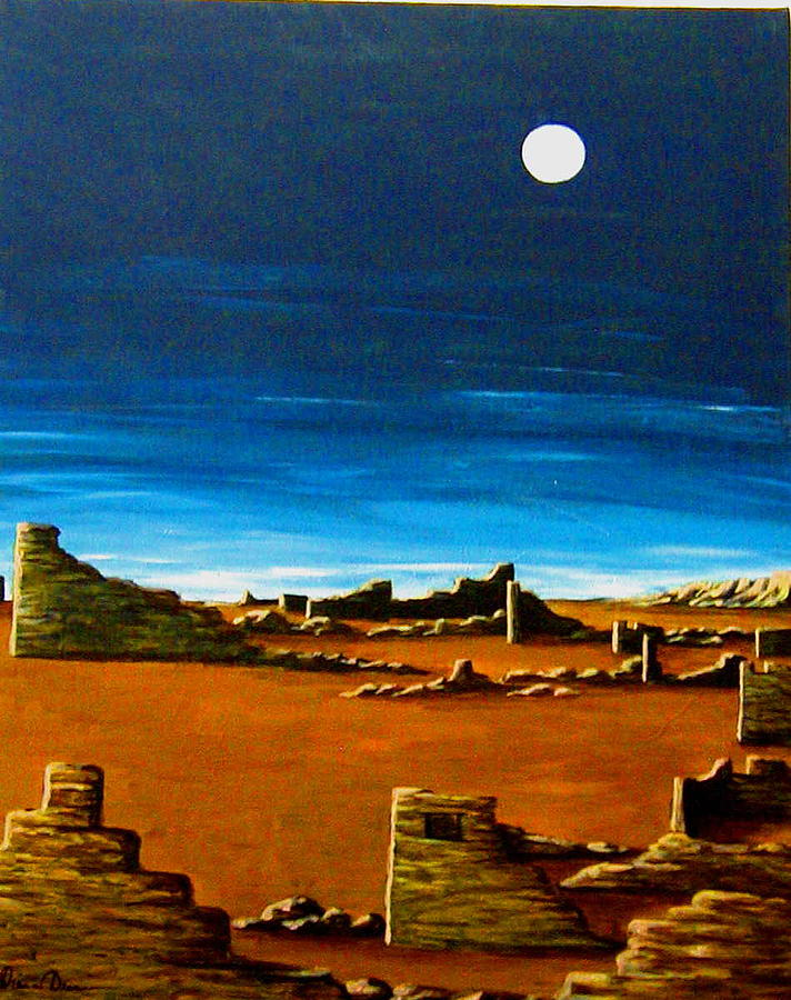 Anasazi Painting - Timeless by Diana Dearen