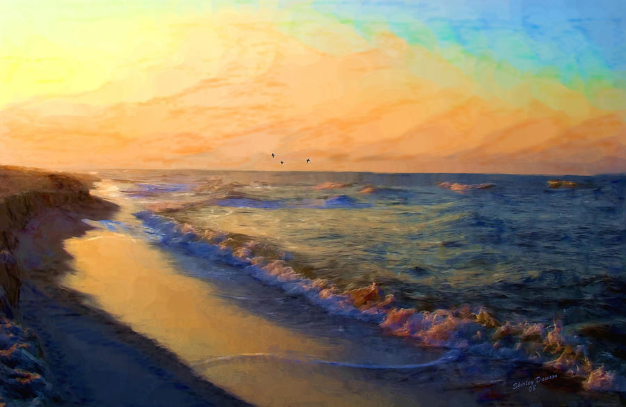 Landscape Painting - Timeless by Shirley Dawson