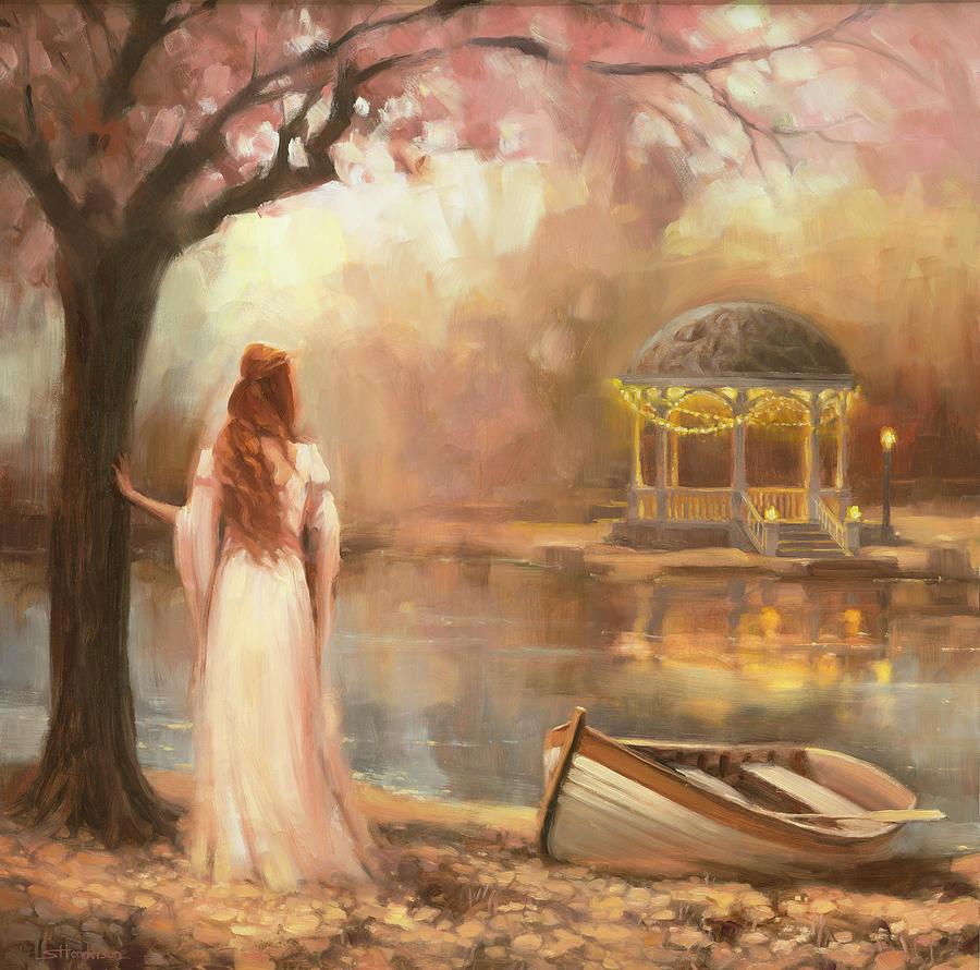 Romance Painting - Timeless by Steve Henderson