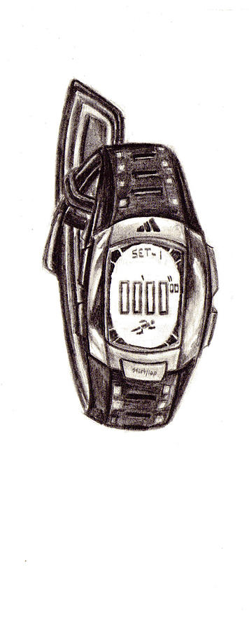 Drawing Drawing - Timeless by Steven Santee