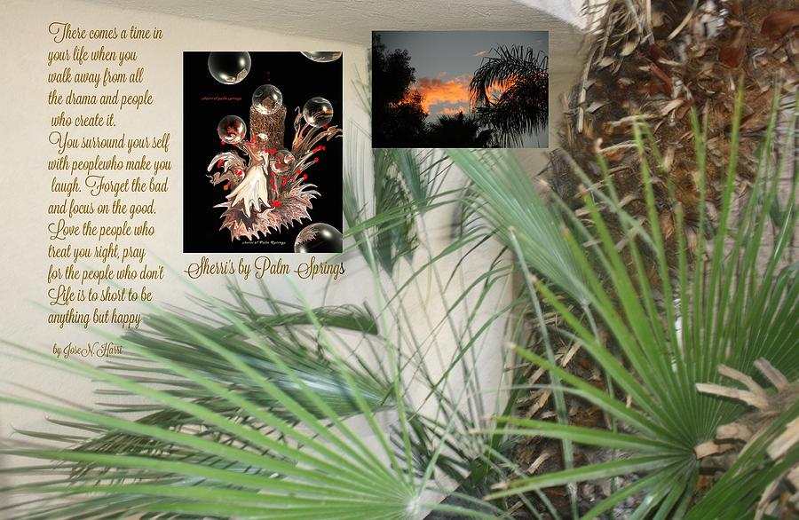 Palm Tree Digital Art - Times Of Our Lives by Sherris - Of Palm Springs
