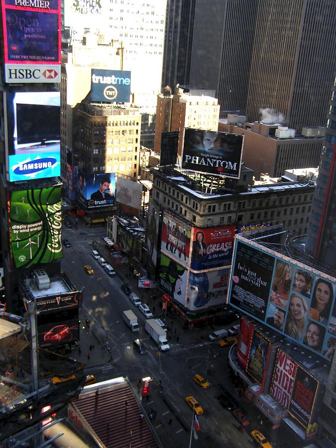 New York Photograph - Times Square 2 by Christine Sullivan Cuozzo