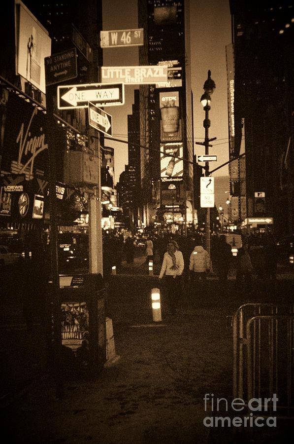 New York Photograph - Times Square by Debbi Granruth
