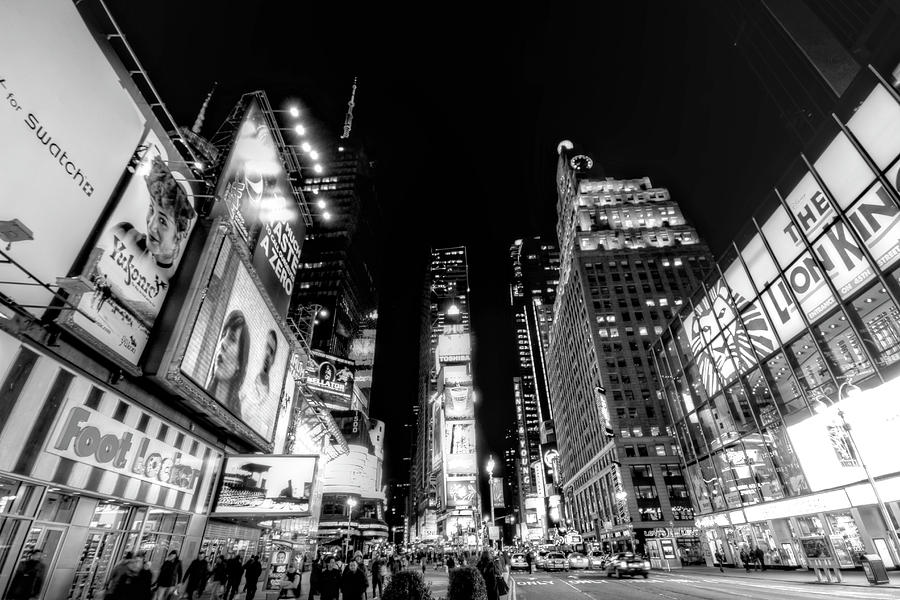Times Square Photograph - Times Square Dont Shine As Bright As You by Ariane Moshayedi