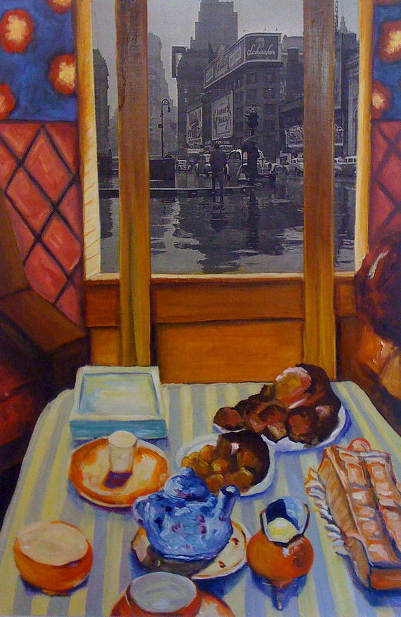 Interior Painting - Times Square by Kathy Halper