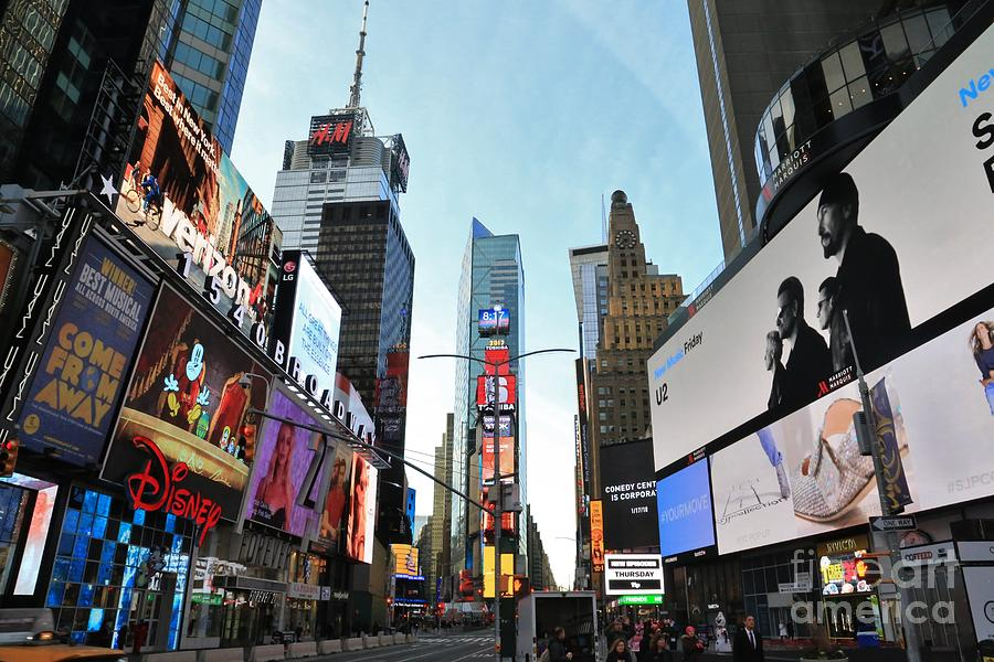 Destination Photograph - Times Square New York City by Douglas Sacha