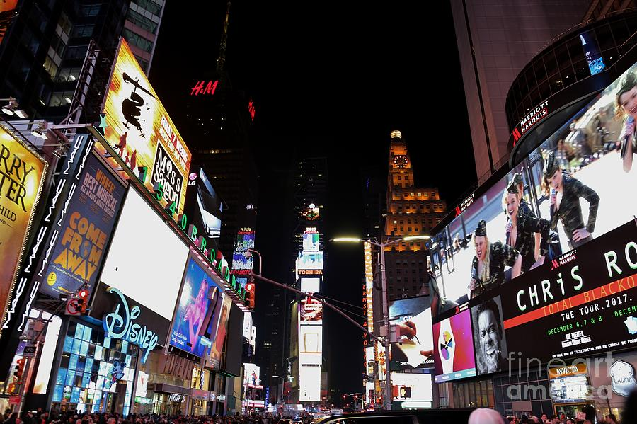 Destination Photograph - Times Square New York City New Years Eve by Douglas Sacha
