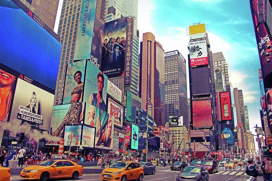 Times Square New York City Photograph
