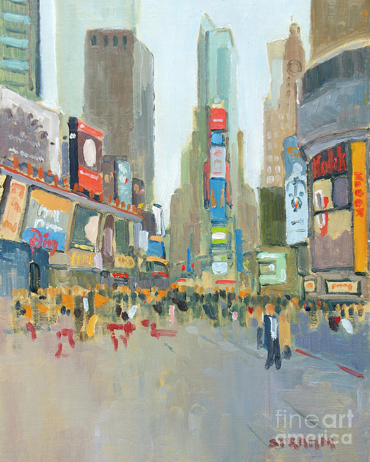 Times Square New York City by Paul Strahm