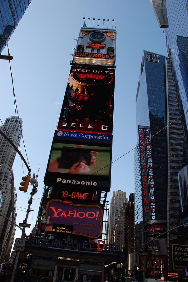 Times Square Photograph - Times Square by Rob Hans