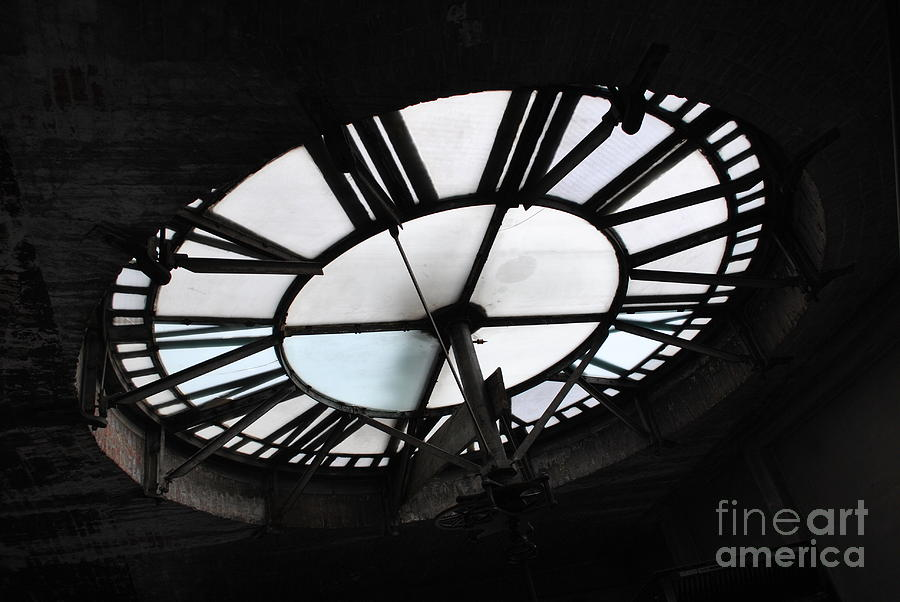 Clock Photograph - Times Up by Jost Houk
