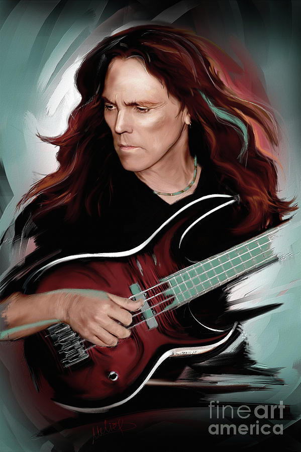 Timothy B. Schmit Mixed Media - Timothy B. Schmit by Melanie D