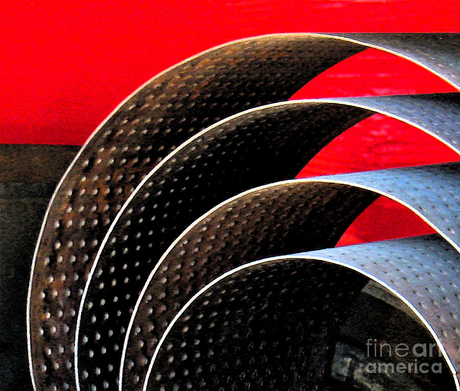 Modern Photograph - Tin Abstract by Gary Everson