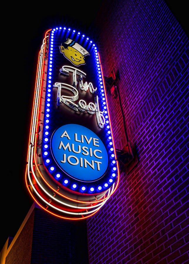 Tin Roof Beale Street Photograph By Stephen Stookey