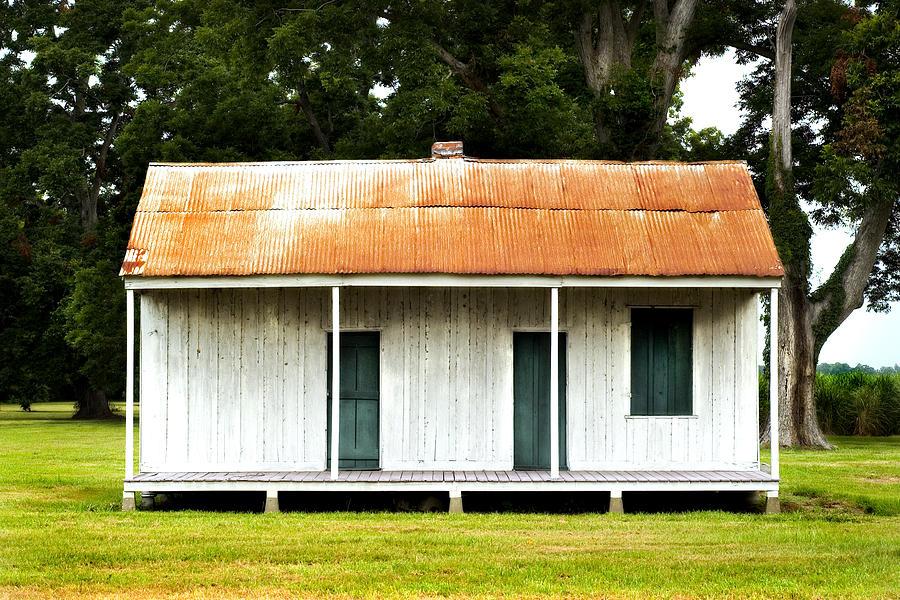 Louisiana Photograph   Tin Roof Rusted By John Gusky