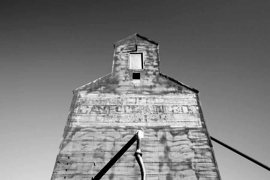 Grain Elevator Photograph - Tin Roof by Todd Klassy