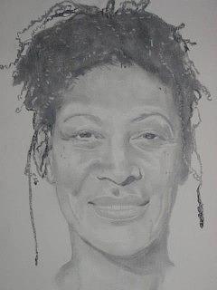Author Drawing - Tina Mcelroy - Ansa by B Jaxon