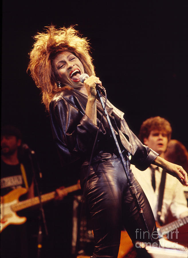 Tina Turner Photograph - Tina Turner 1984 by Chris Walter