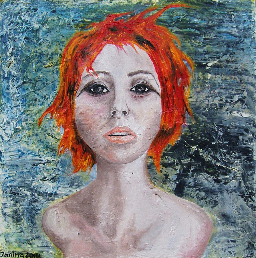 Tindalos Painting by Janina Magnusson