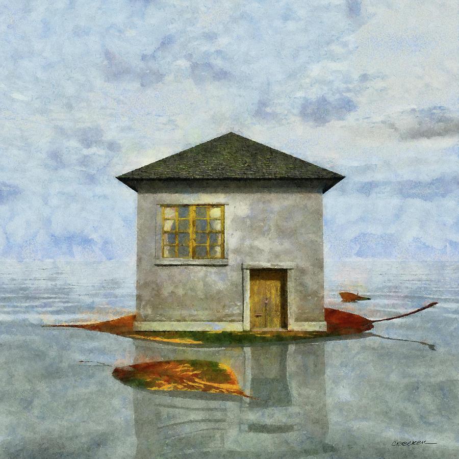 Tiny House Digital Art - Tiny House 5 by Cynthia Decker