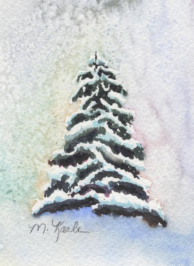 Tiny Snowy Tree by Marsha Karle