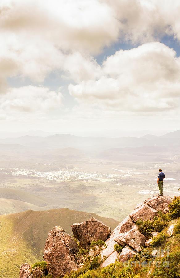 Australia Photograph - Tip Of Mt Zeehan Tasmania  by Jorgo Photography - Wall Art Gallery