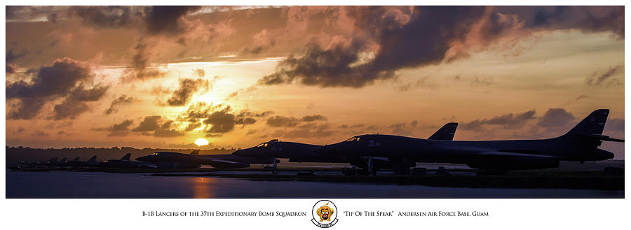 Aviation Photograph - Tip Of The Spear by Peter Chilelli