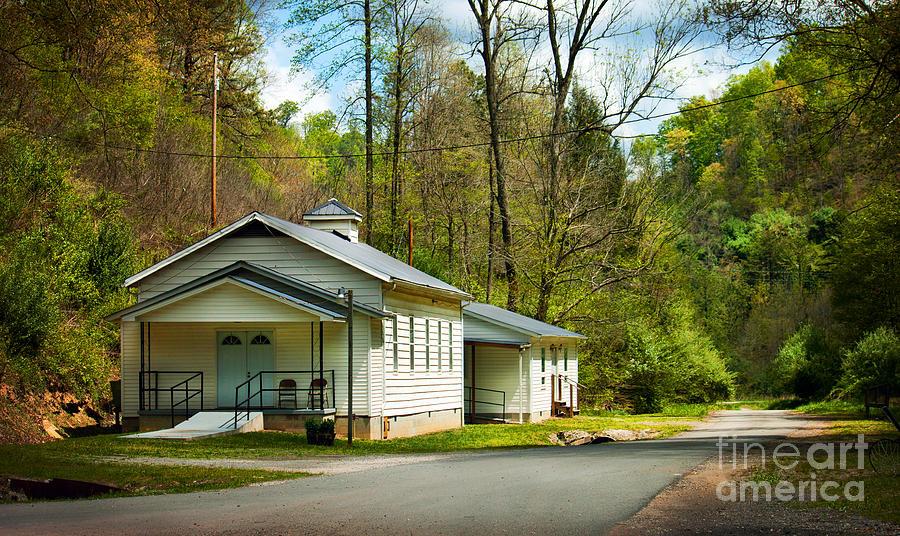 Baptist Photograph - Tip Top Baptist Church by Lena Auxier