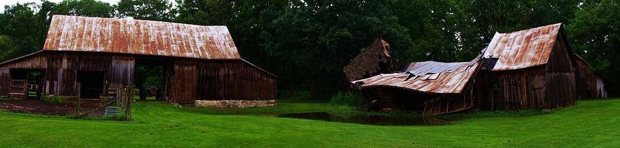 Barns Photograph - Tired And Worn I by Anna Villarreal Garbis