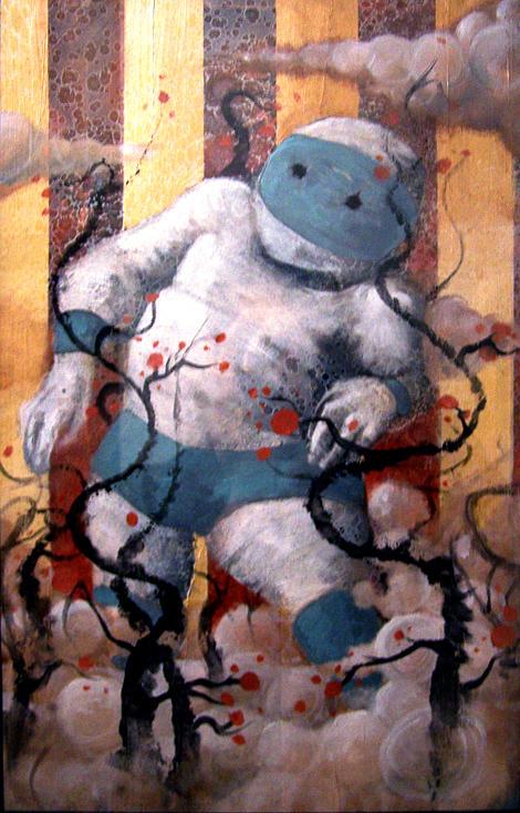 Titan Painting by Duncan McDaniel