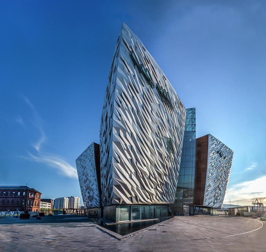 Belfast Photograph - Titanic Building Bows by Glen Sumner