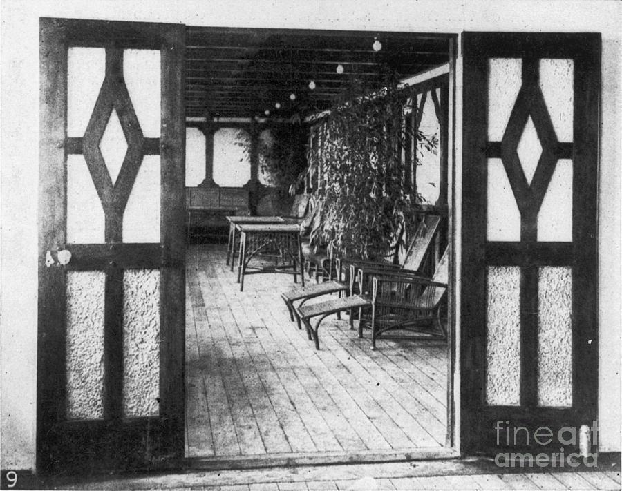 1912 Photograph - Titanic: Private Deck, 1912 by Granger