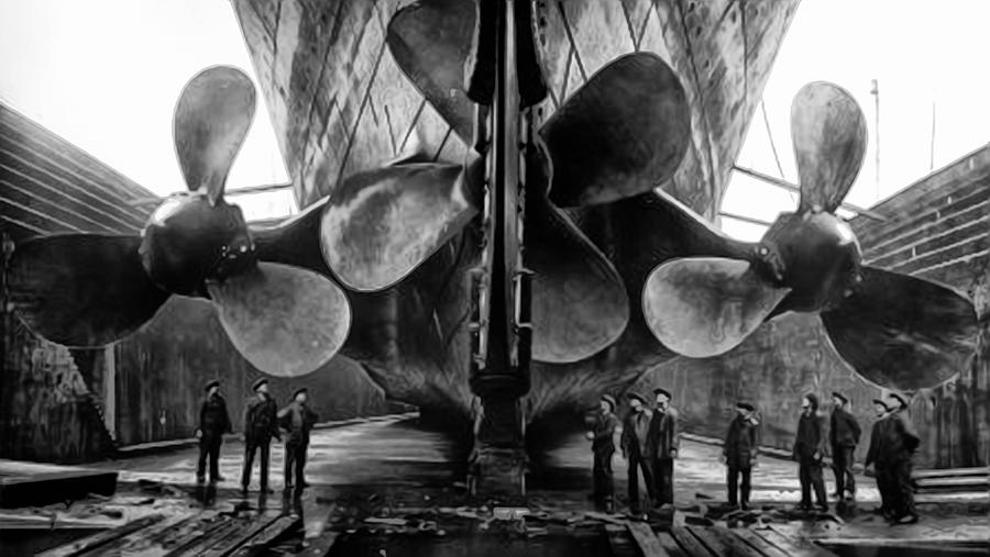 Titanic Propellers Photograph By Bill Cannon