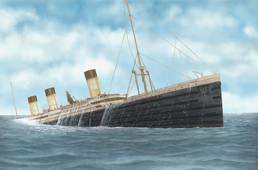 Titanic Rising Digital Art by Francis Imossi