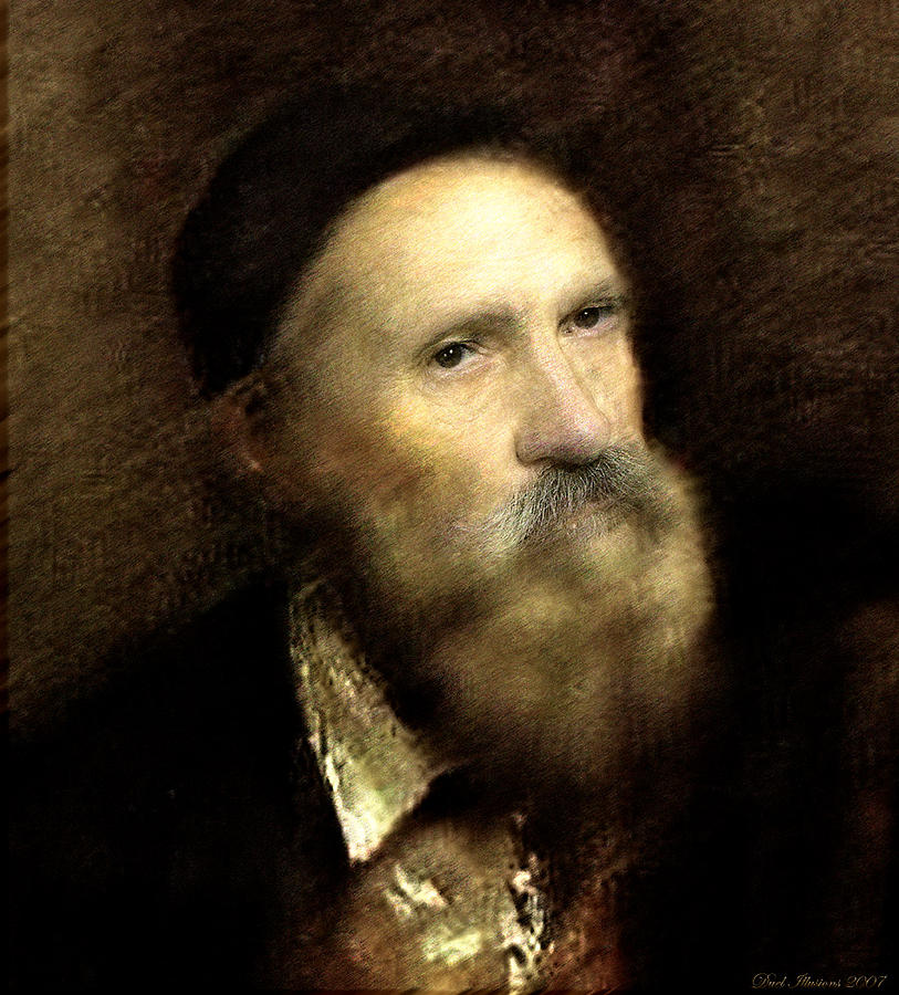 Portraits Digital Art - Titian Maybe by Sharon Hendrickson