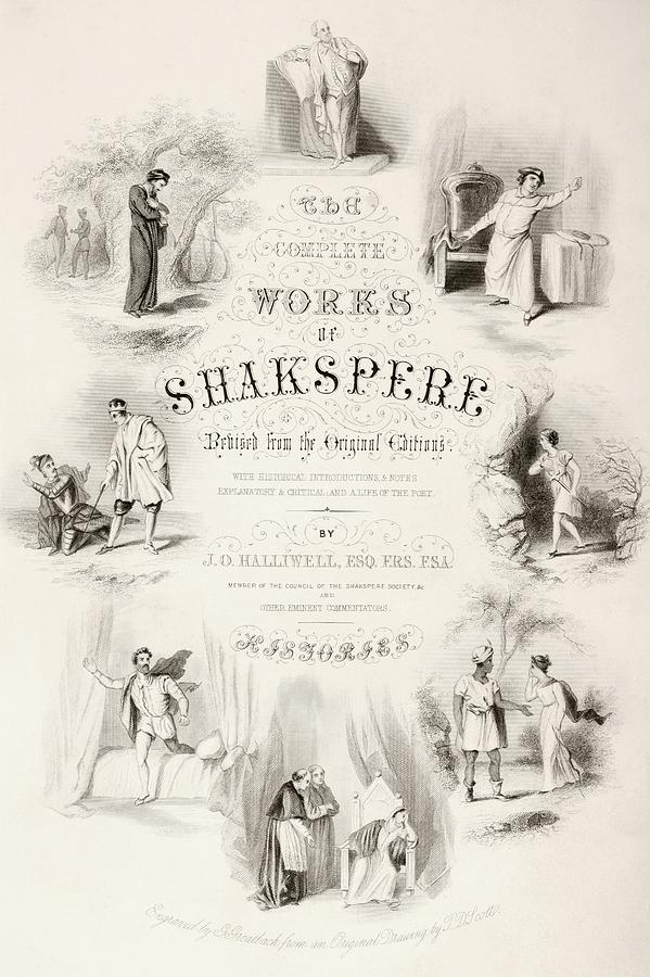Title Page Of A Nineteenth Century Book