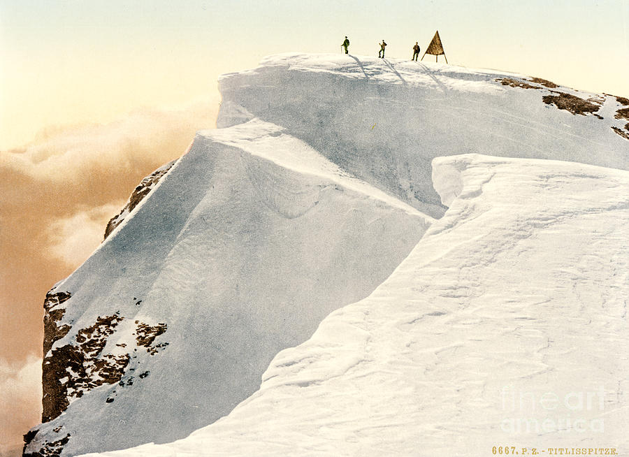 Titlis Summit Painting