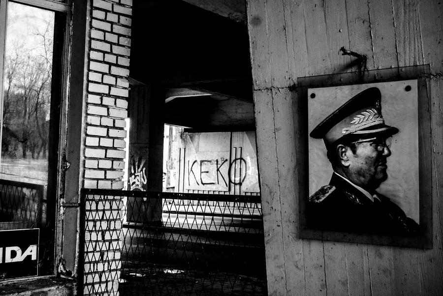 Belgrade Photograph - Tito by Grebo Gray