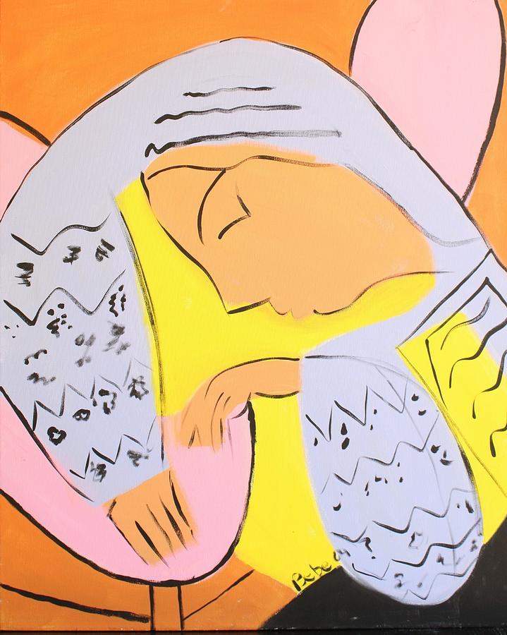 Dervish Painting - Tiz Me  by Bebe Brookman