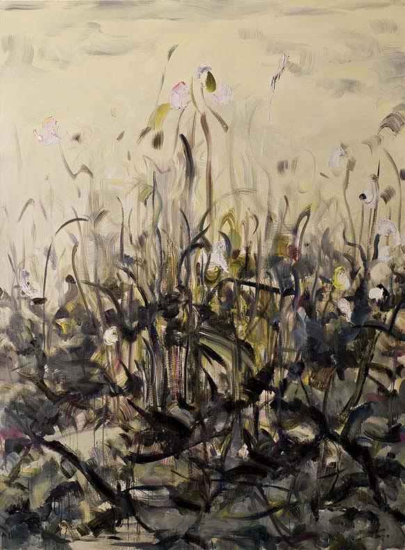 Flowers Painting - To Be Named by Liang Ping