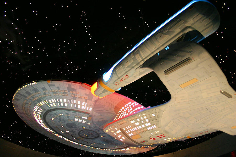 Spaceship Photograph - To Boldly Go by Kristin Elmquist