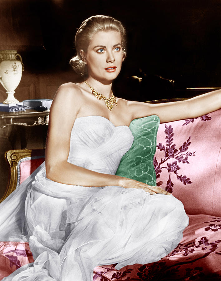 1950s Portraits Photograph - To Catch A Thief, Grace Kelly, 1955 by Everett