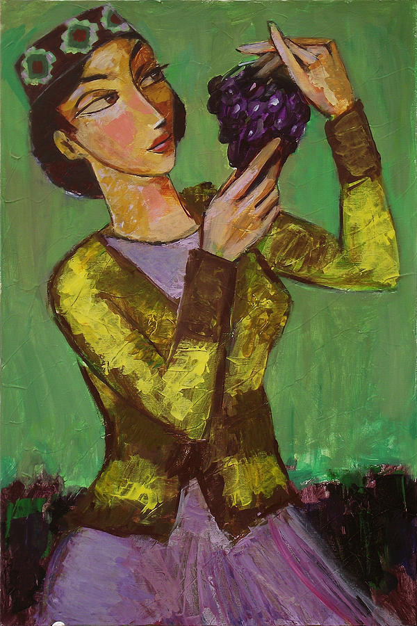 To Eat Or To Delight Painting by Ara Shahkhatuni
