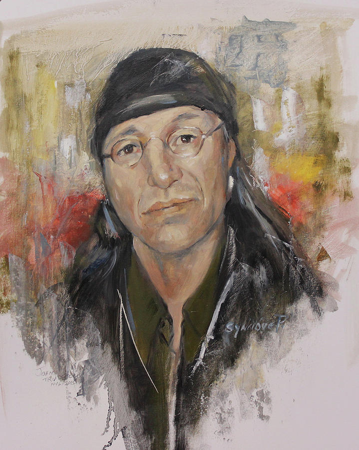 To honor John Trudell by Synnove Pettersen