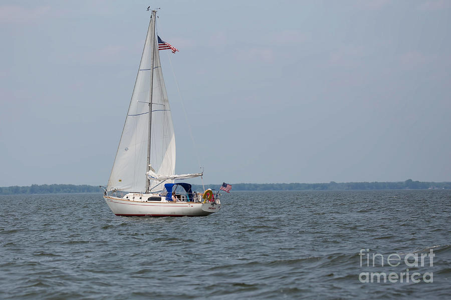 Sailing Photograph - To Infinity And Beyond by Nikki Vig